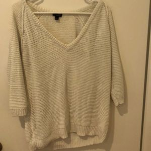 Ann Taylor Summer Sweater. Size L